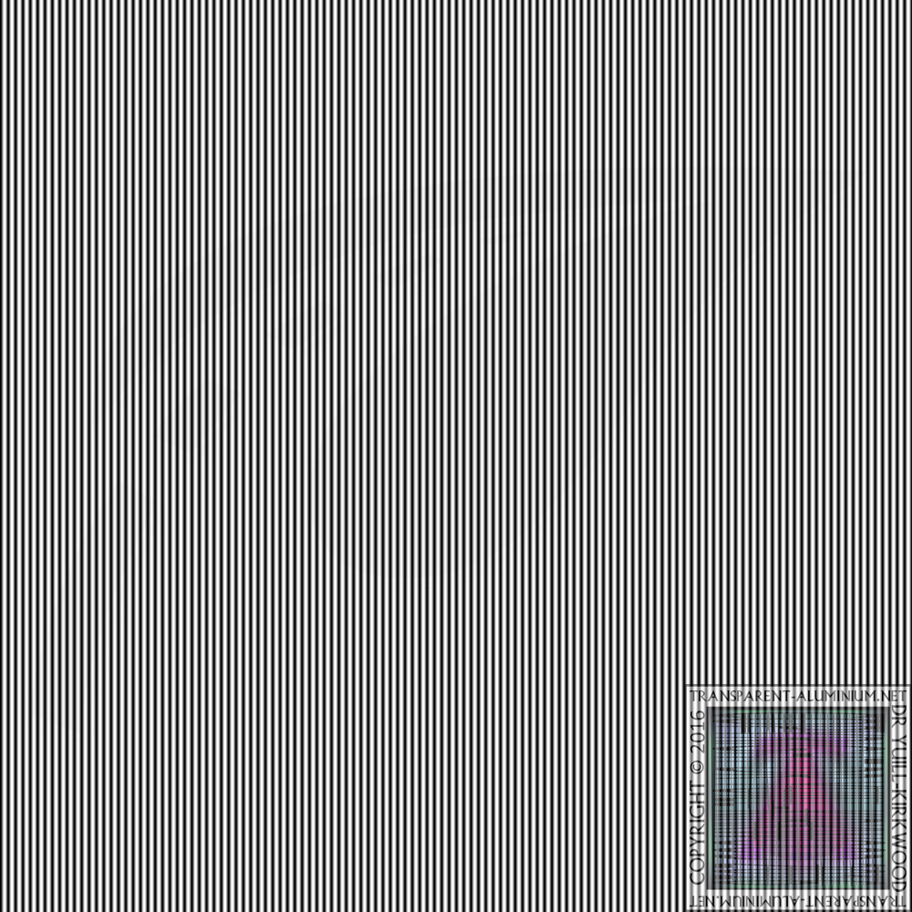 Stephensons Hidden Photo Optical Illusion 2p