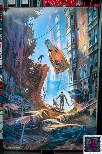 Fallout 4 Metal Art Print