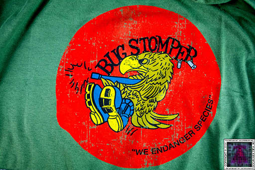 Aliens Bug Stomper T-Shirt