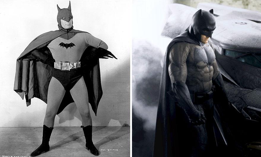 Batman 1943 vs 2016