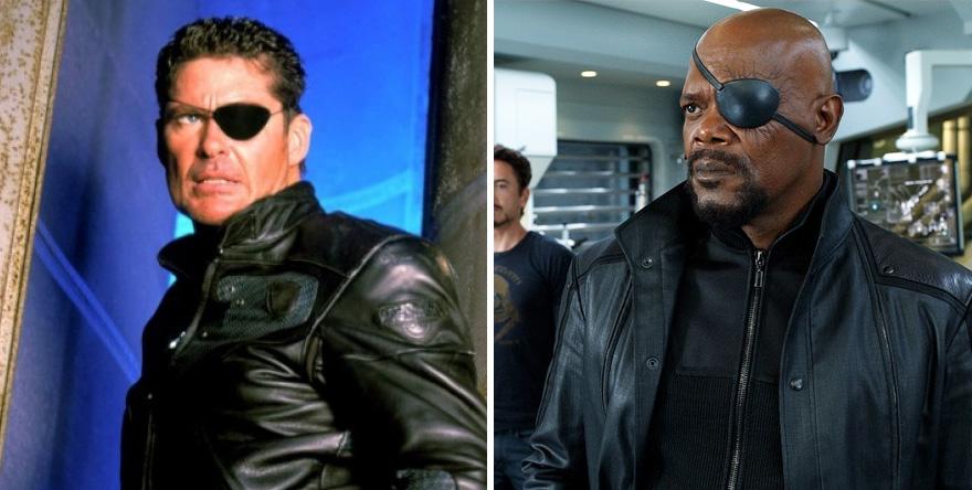 Nick Fury 1998 vs 2012