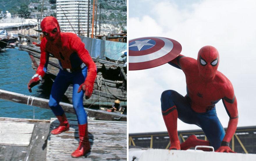 Spider-Man 1977 vs 2016