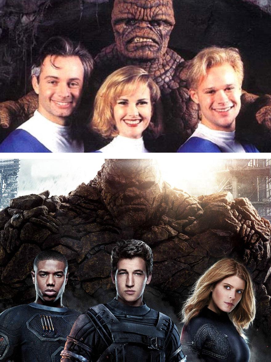 The Fantastic Four 1994 vs 2015