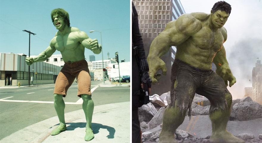 The Hulk 1978 vs 2012