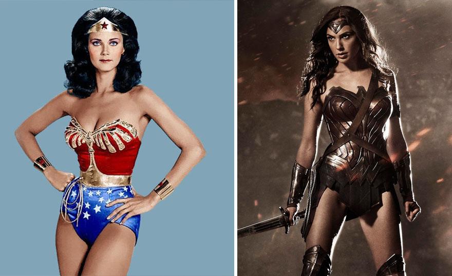 Wonder Woman 1975 vs 2017