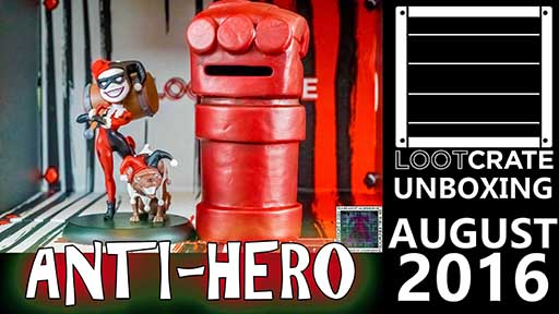 Loot Crate - August 2016 Anti-Hero 512