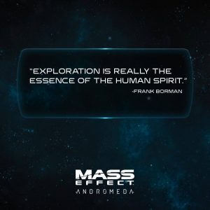 Exploration is realy the Essence of the Human Spirit
