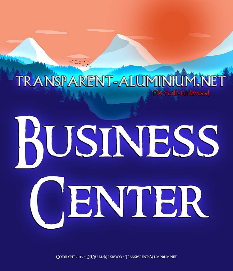 Welcome to the Transparent-Aluminium.net Business Center