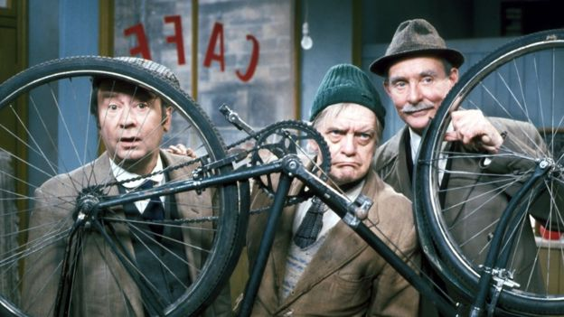 Peter Sallis, Bill Owen and Michael Bates - the original trio in Last of the Summer Wine