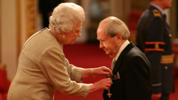 Sallis was made an OBE by the Queen in 2007