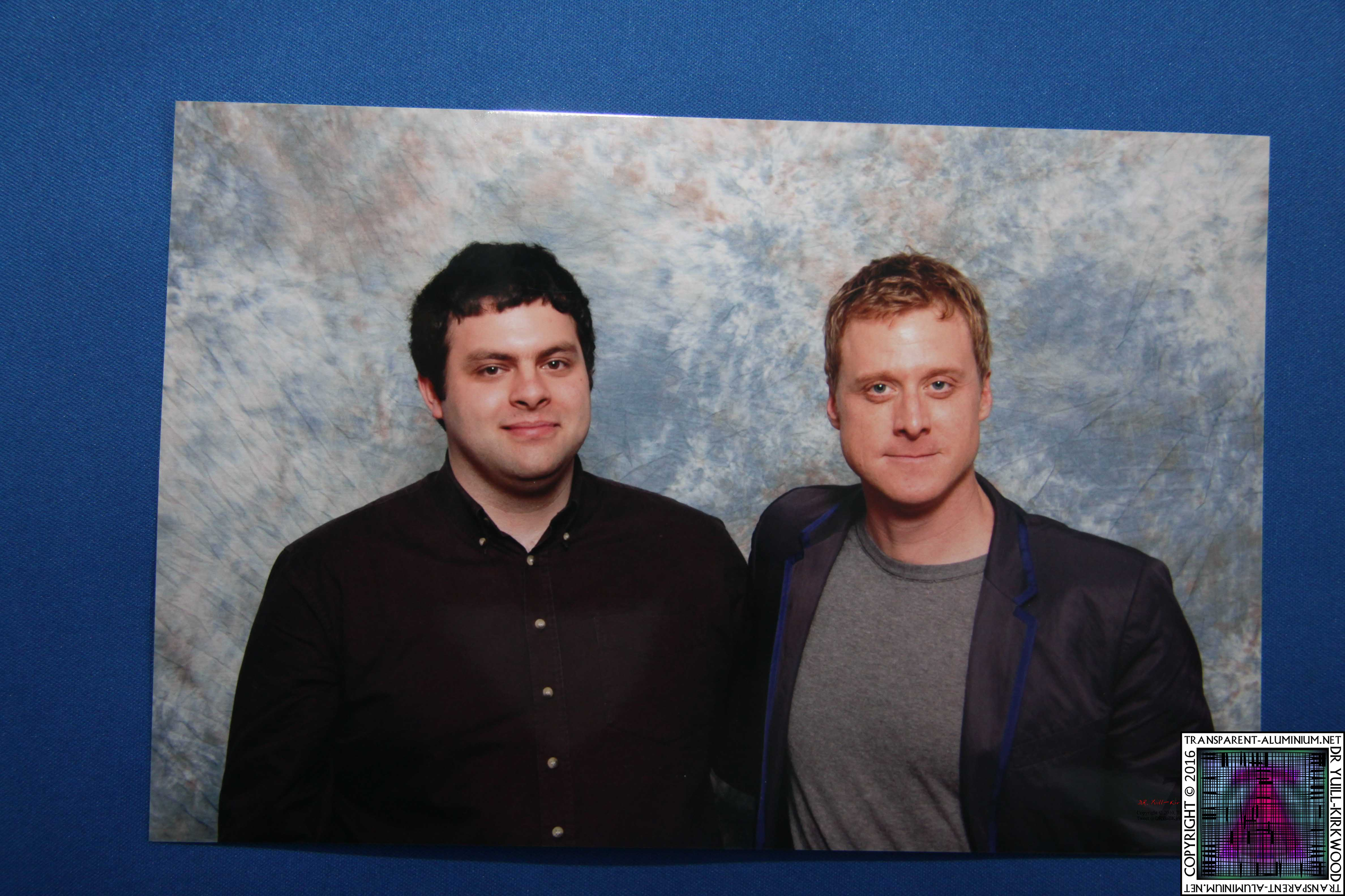 Me with Alan Tudyk