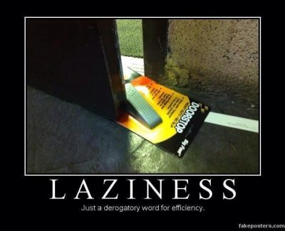 Picture Imp: Laziness