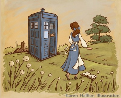 15 Time Doctor Who Took The TARDIS to Meet Our Favorite Animated Characters