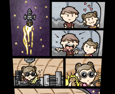 Picture Imp: It Can Get Awful Lonely In The Black