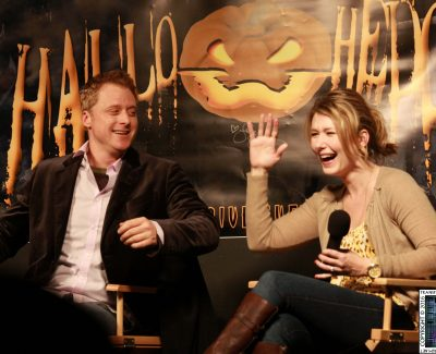 Hallowhedon2 2010 – Sunday: Jewel Staite & Alan Tudyk