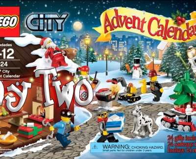 LEGO City Advent Calendar Day 02 – 60024