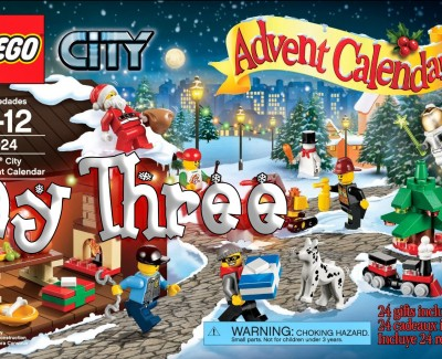 LEGO City Advent Calendar Day 03 – 60024