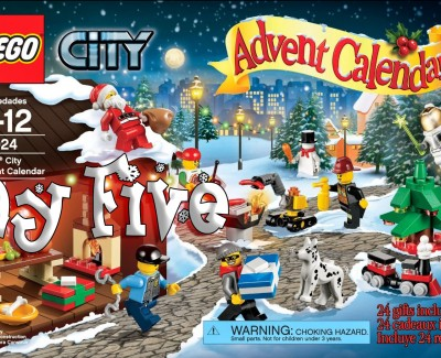 LEGO City Advent Calendar Day 05 – 60024