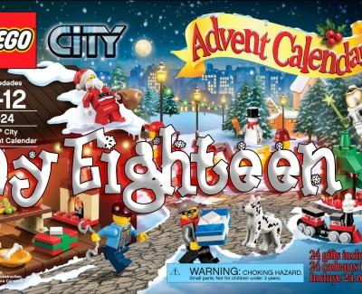 LEGO City Advent Calendar Day 18 – 60024