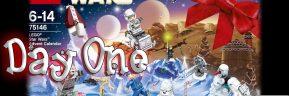 LEGO Star Wars Advent Calendar Day 1 -75146