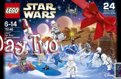 LEGO Star Wars Advent Calendar Day 2 -75146
