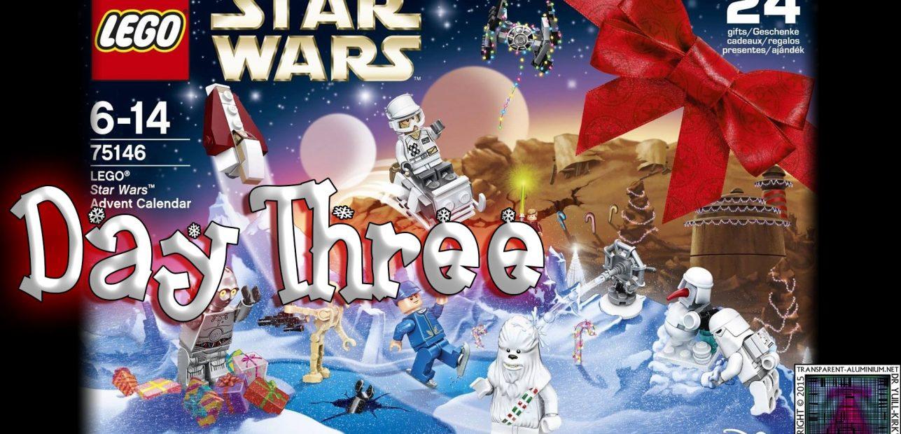 LEGO Star Wars Advent Calendar Day 3 -75146