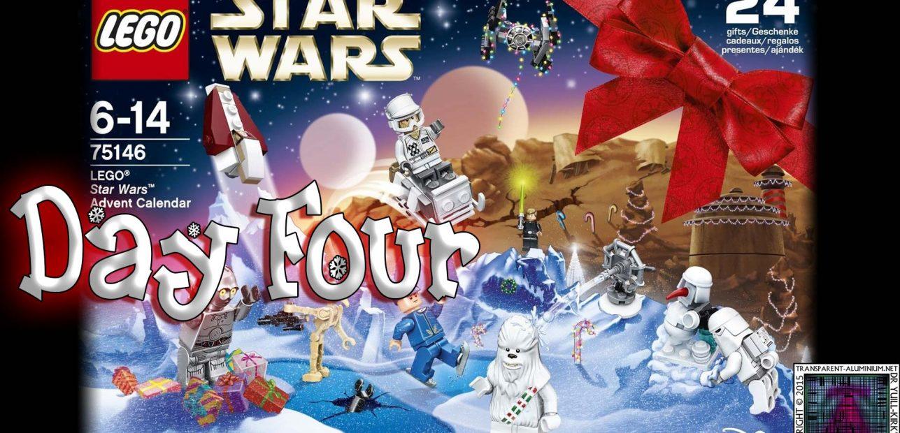 LEGO Star Wars Advent Calendar Day 4 -75146