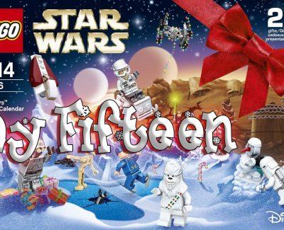 LEGO Star Wars Advent Calendar Day 15 -75146
