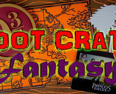 Loot Crate – April 2015 Fantasy
