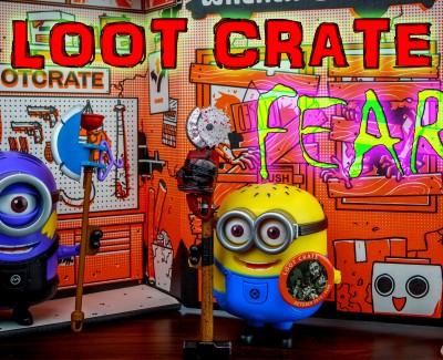Loot Crate – October 2014 Fear