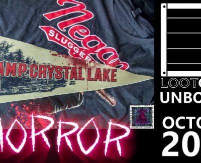 Loot Crate – October 2016 Horror