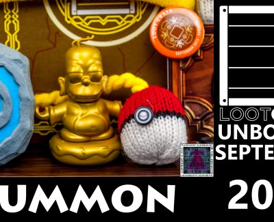 Loot Crate – September 2015 Summon