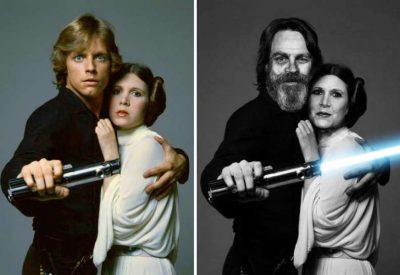 Star Wars Cast Then & Now