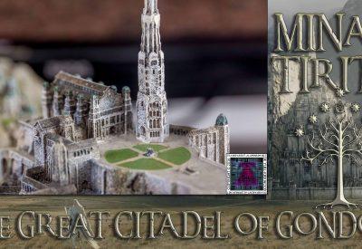 Minas Tirith The Great Citadel Of Gondor