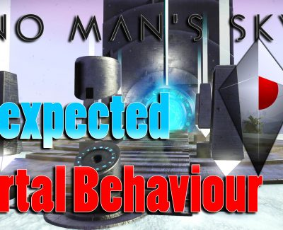 No Man's Sky – Unexpected Portal Behaviour