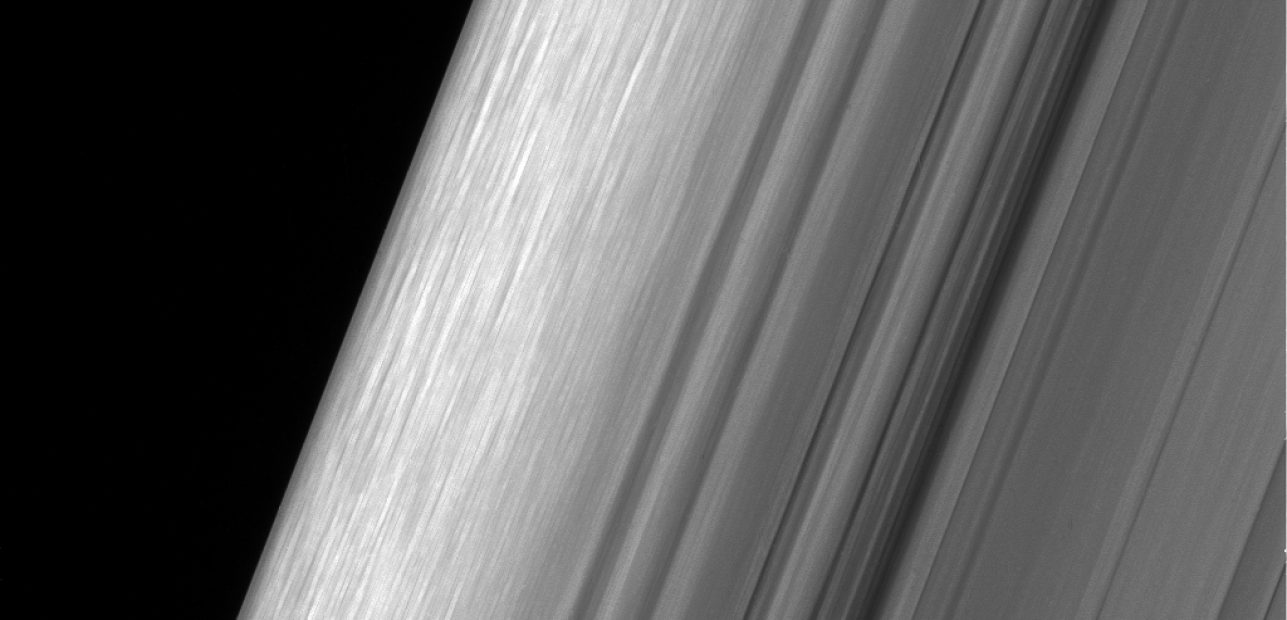 NASA Releases Close Views Showing Saturn's Rings in Unprecedented Detail