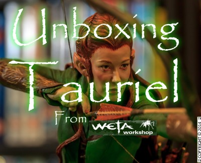 Tauriel Statue Unboxing