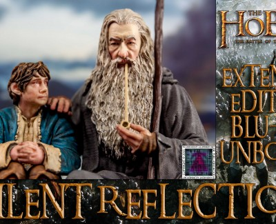 Silent Reflection – The Hobbit Statue