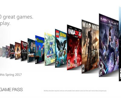 XBOX Announces XBOX Game Pass