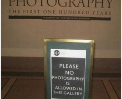 Picture Imp: No Photography