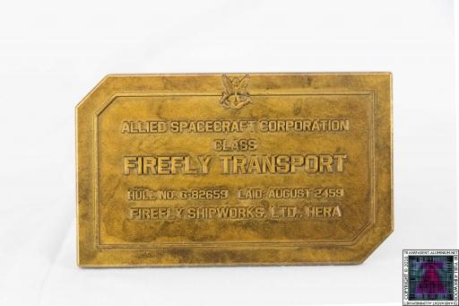Firefly Dedication Plaque