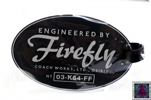 Firefly Luggage Tag