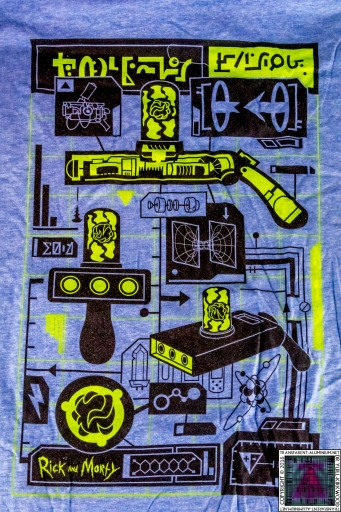 Loot Crate - July 2016 Futuristic T-Shirt