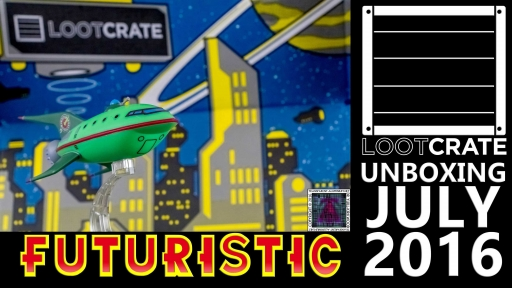Loot Crate - July 2016 Futuristic thumb