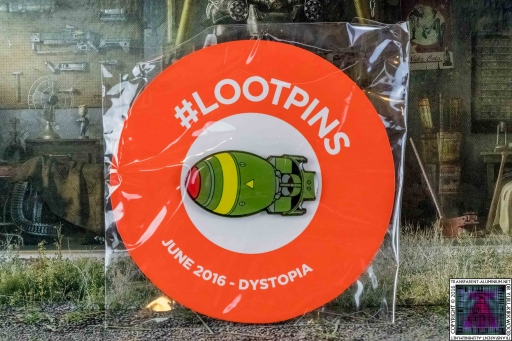Loot Crate - June 2016 Dystopia Badge