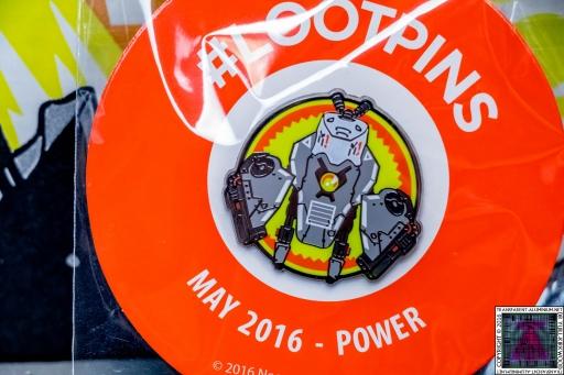 Loot Crate - May 2016 Power Pin