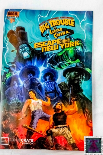 Big Trouble on Little China Escape From New York Comic (1)