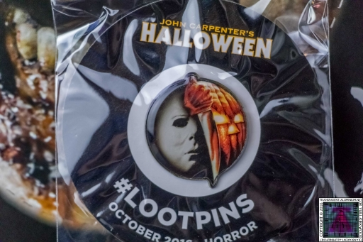 Loot Crate - October 2016 Horror Badge