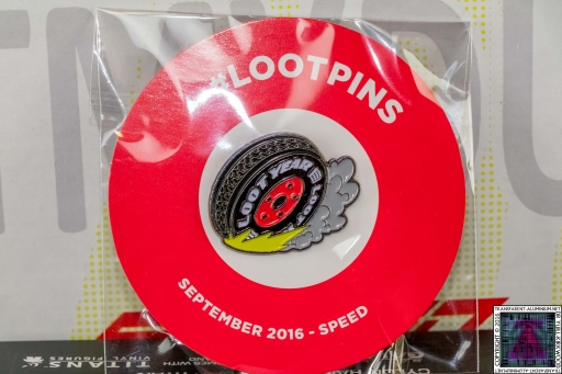 Loot Crate - September 2016 Speed Badge