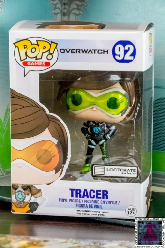 Overwatch Tracer Pop Vinyl Figure